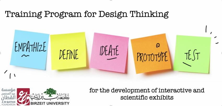 Training Program for Design Thinking | A M Qattan Foundation